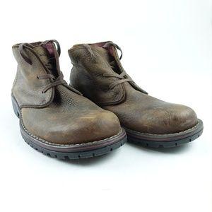 Clarks Men Leather Chukka Boots MISMATCH R9S13